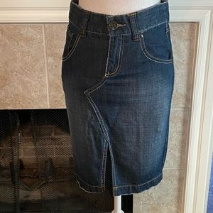Old Navy Special Edition denim skirt. Size 2